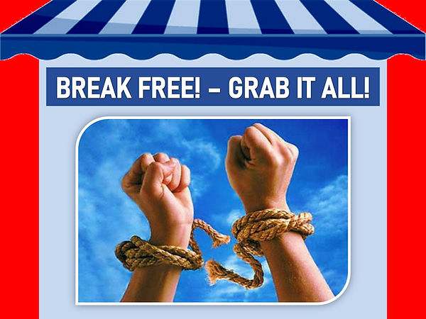 Break Free! Grab all of our PLR Content for a fraction of the price!