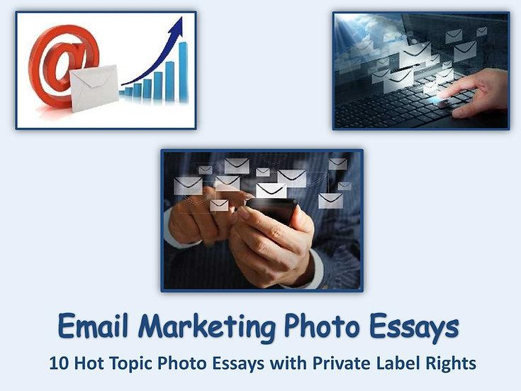 10 PLR Email Marketing Photo Essays