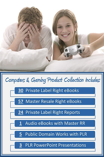 Computers and Gaming Product Profit Packs