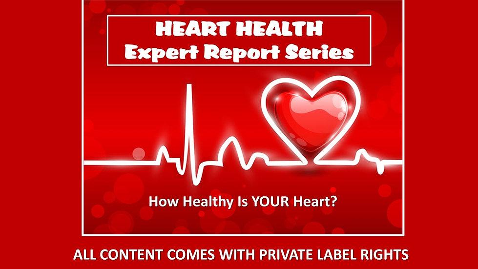 Heart Health Private Label Report Series