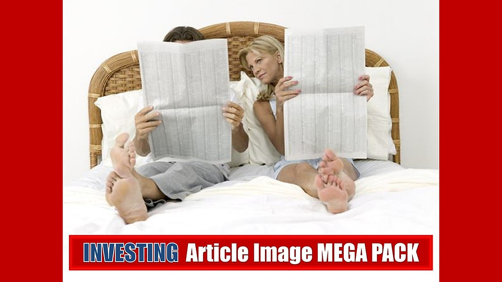 Investing PLR Article and Image MEGA Pack