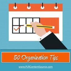 50 ORGANIZATION TIPS