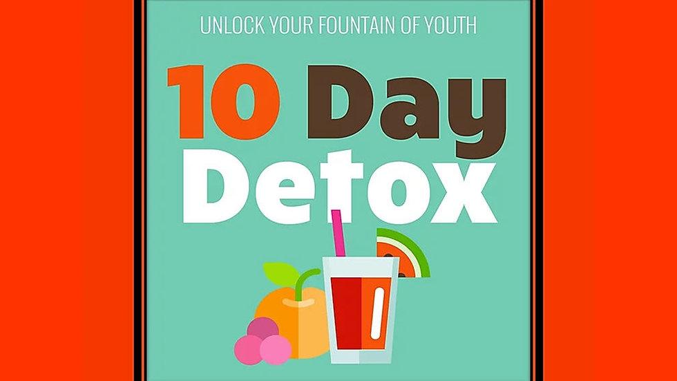 10 Day Detox PLR Pack