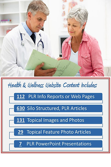 Health and Wellness Turnkey Content Sites