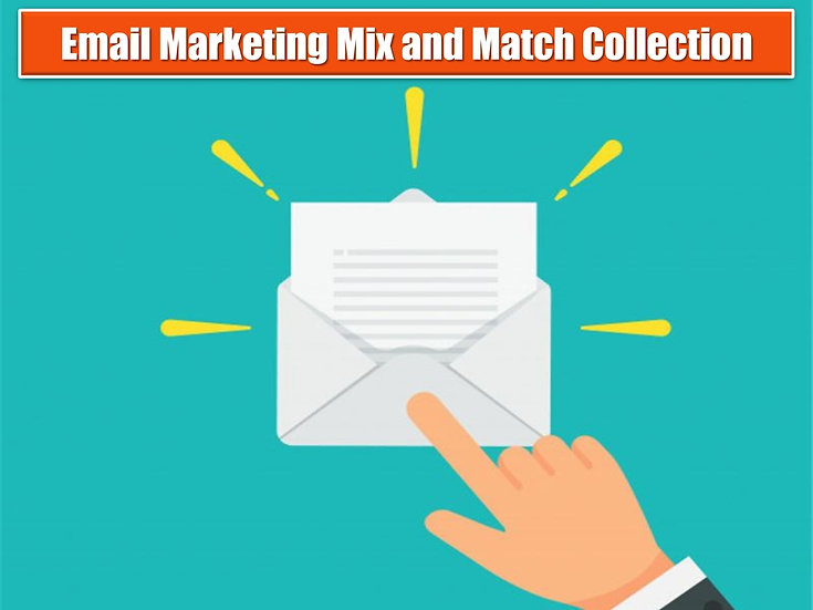 eMail Marketing MIX and MATCH CONTENT Collection
