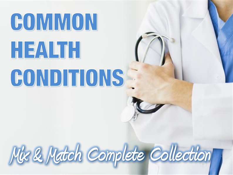 Common Health Conditions PLR Content Collection
