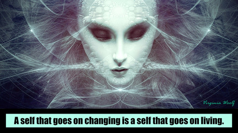 A self that goes on changing