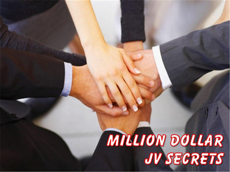 Million Dollar JV Secrets PLR Reports