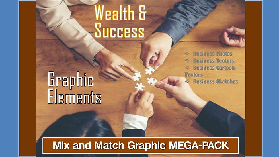 Wealth and Success Mix and Match GRAPHICS Collection