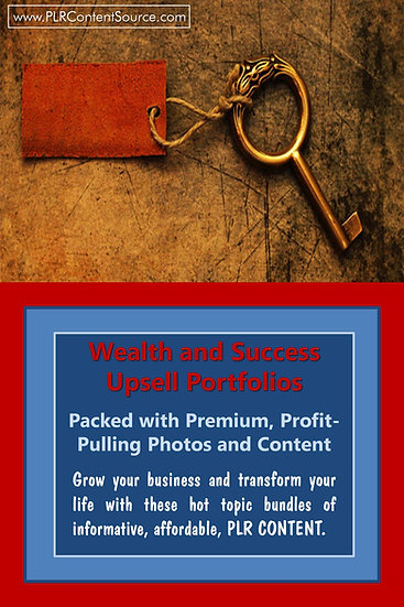 Wealth and Success Upsell Content Collection