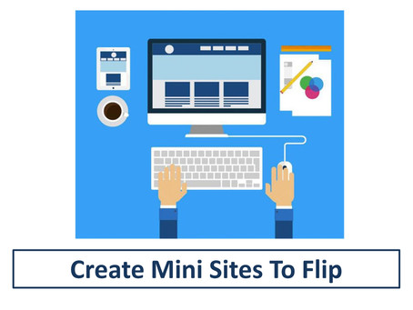 Create Mini Sites to Flip