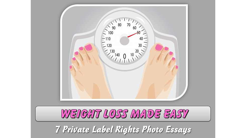 Weight Loss Made Easy Private Label Content Pack