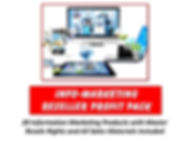 Infomarketing Reseller Profit Pack