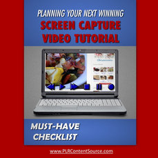 SCREEN CAPTURE VIDEO MUST HAVE CHECKLIST