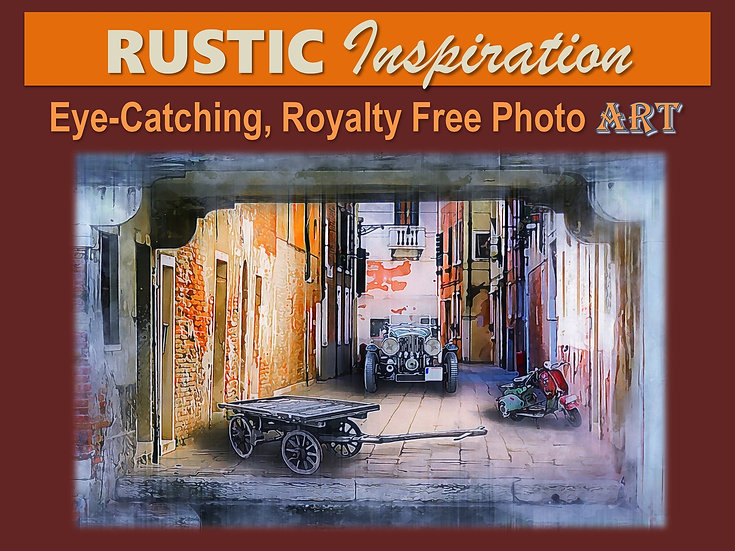 RUSTIC Inspiration Photo Art Collection
