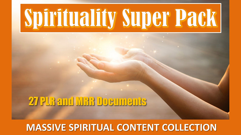 Spirituality Product Super Pack
