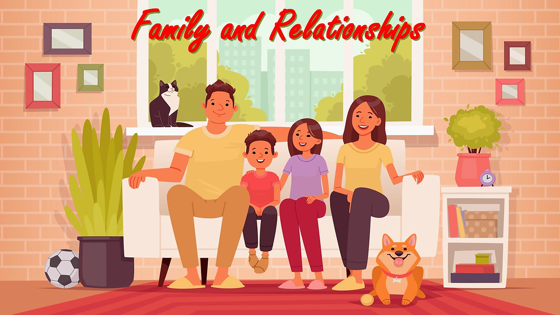 Family and Relationships PLR Content