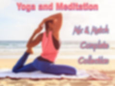 Yoga and Meditation PLR Content Collection
