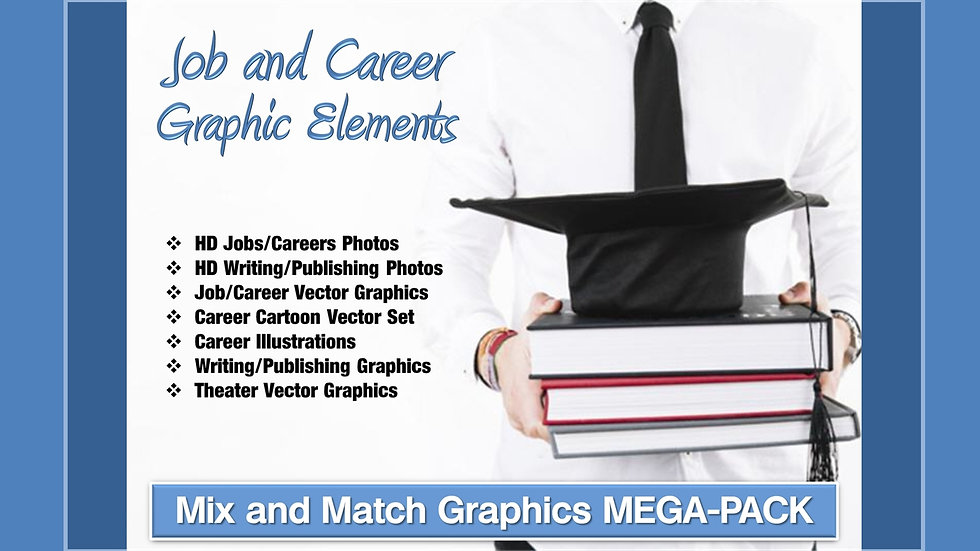 Job and Career Mix and Match GRAPHICS Collection