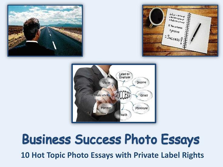 10 PLR Business Success Photo Essays