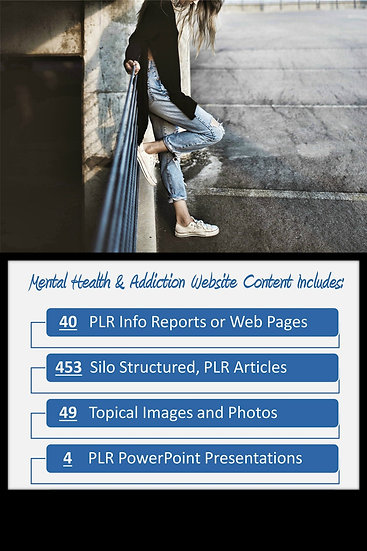 Mental Health Turnkey Content Sites