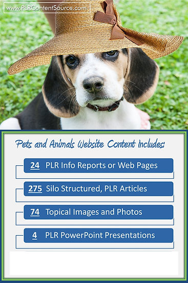 Pets and Animals Turnkey Content Sites