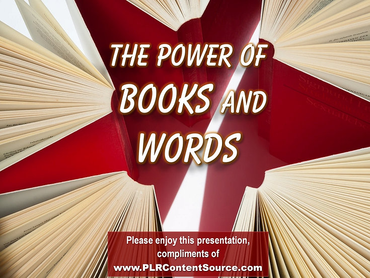 The Power of Books and Words Video Quote Collection
