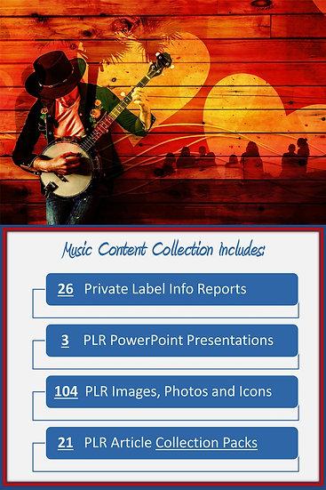 Music Content Portfolios