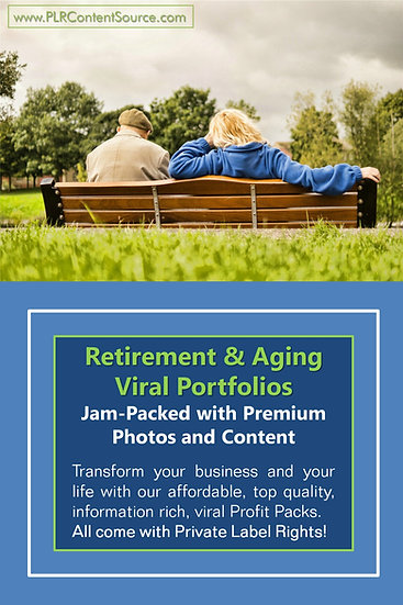 Retirement and Aging Well Niche Domination Pack