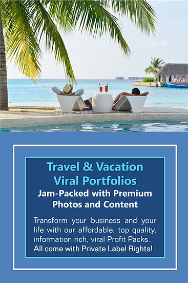 Travel and Vacation Niche Domination Pack