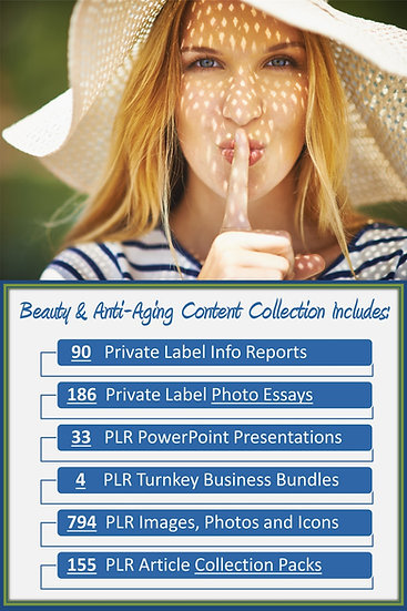 Beauty and Anti-aging Content Portfolios