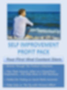 Self Improvement Product Profit Pack