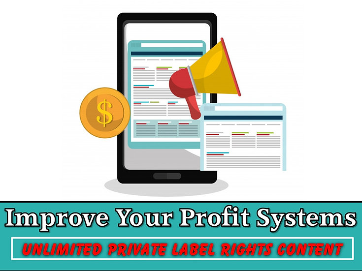 Improve Your Profit Systems Unlimited PLR Pack