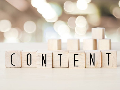 The Three Main Types of Content