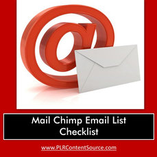 MAIL CHIMP EMAIL CHECKLIST