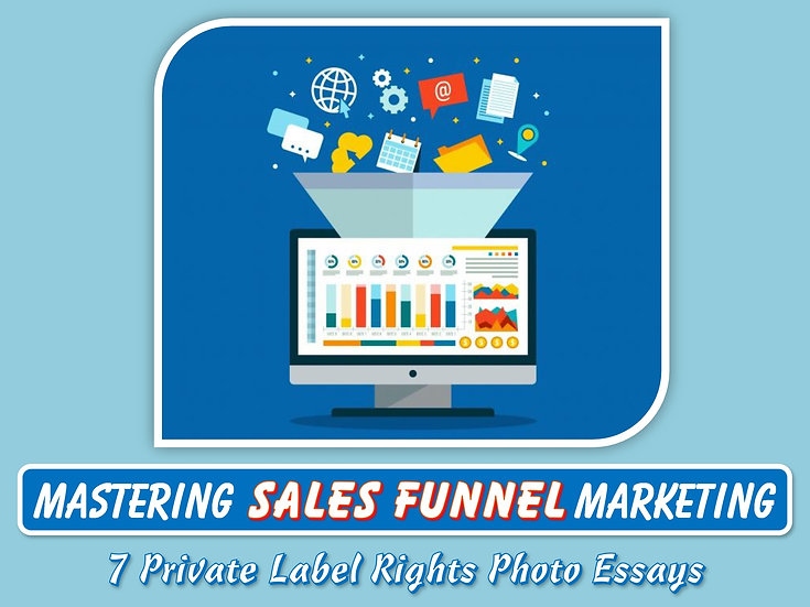 Mastering Sales Funnel Marketing Private Label Content Pack