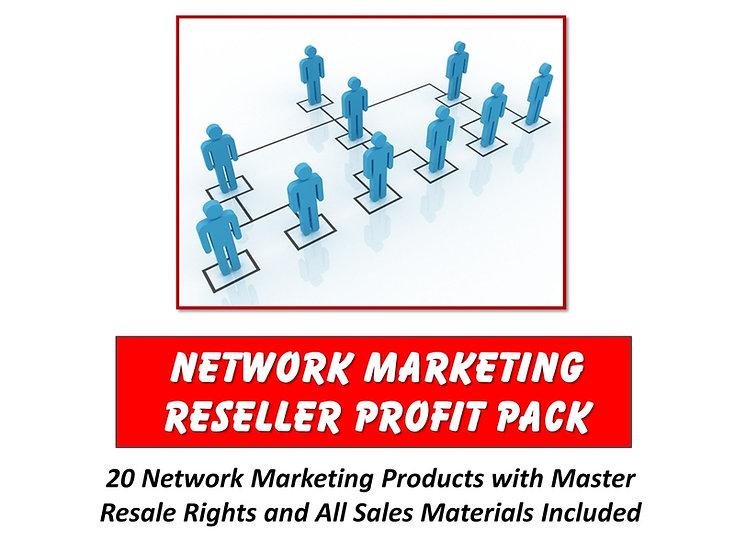 Network Marketing Reseller Profit Pack