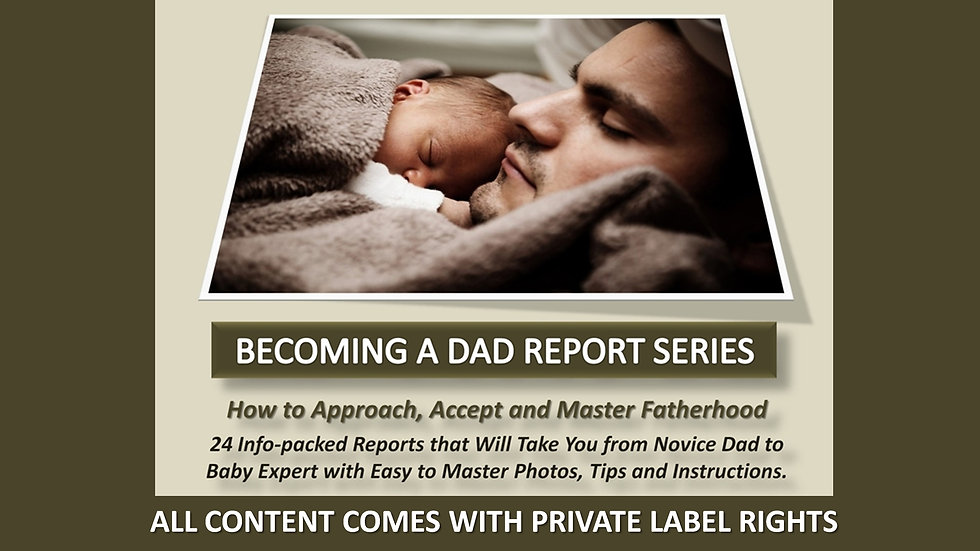 Becoming A Dad PLR Report Series