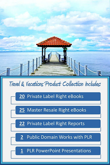 Travel and Vacation Product Profit Packs