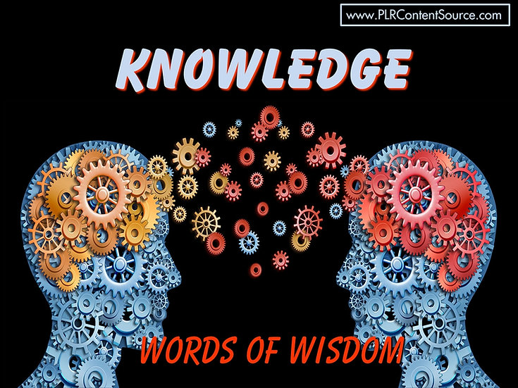 Knowledge Words of Wisdom Video Quote Collection