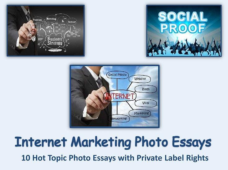 10 PLR Internet Marketing Photo Essays