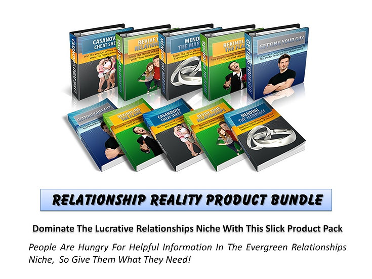 Relationship Reality MRR Product Bundle