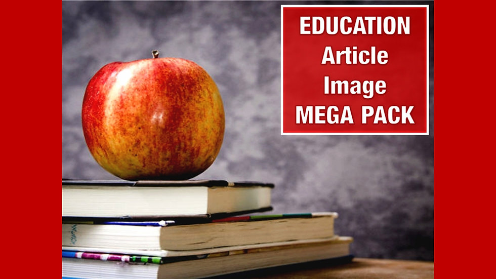 Education PLR Article and Image MEGA Pack