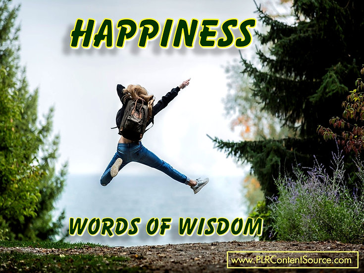 Happiness Words of Wisdom Video Quote Collection