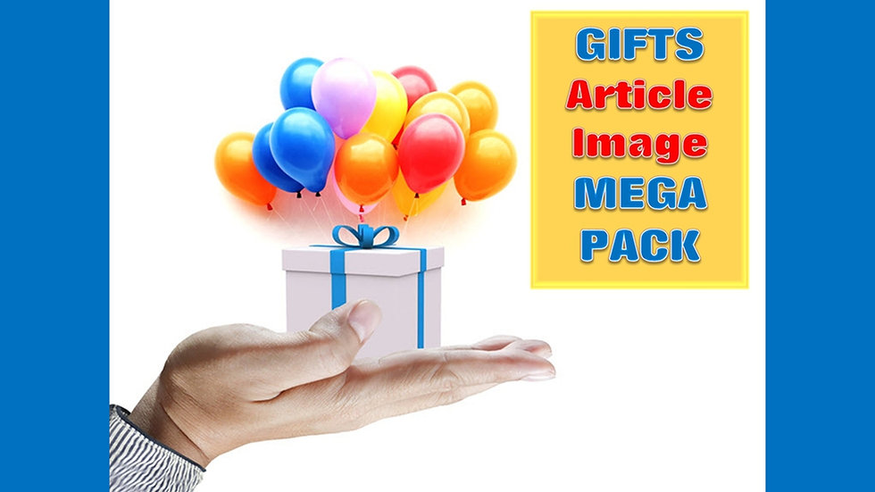 Gifts and Jewelry PLR Article and Image MEGA Pack