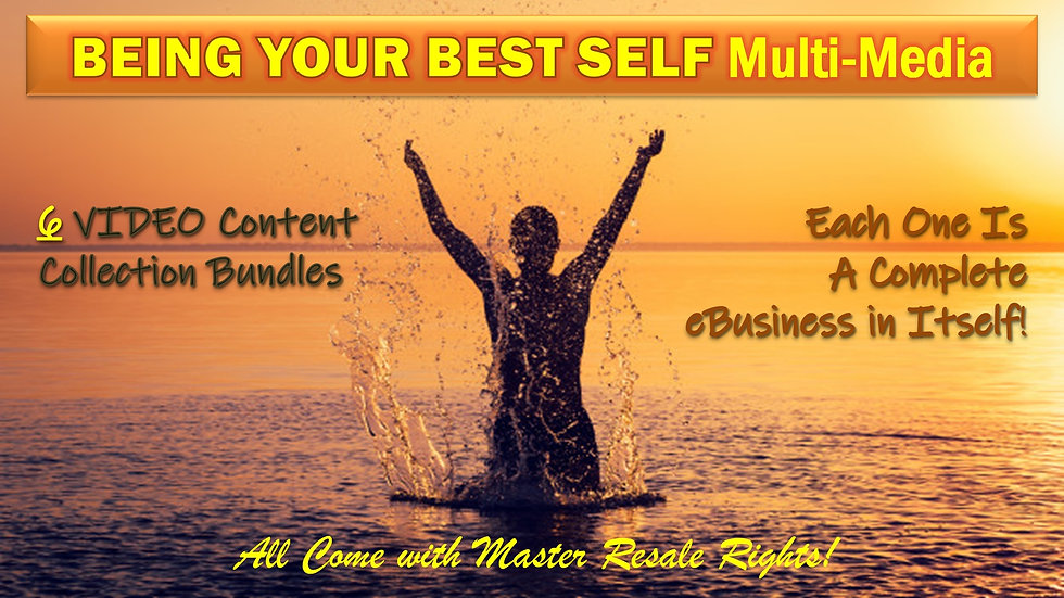 Being Your Best Self Multi-Media Collection