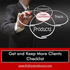 GET and KEEP MORE CLIENTS CHECKLIST