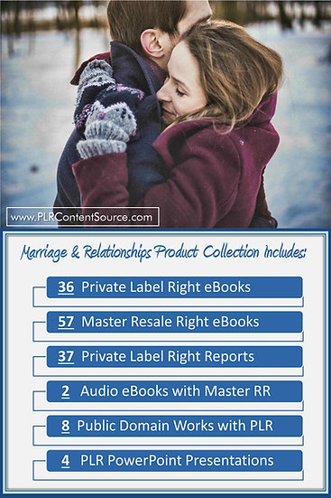 Relationships and Marriage Product Profit Packs