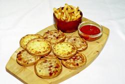 English Muffins, Fries