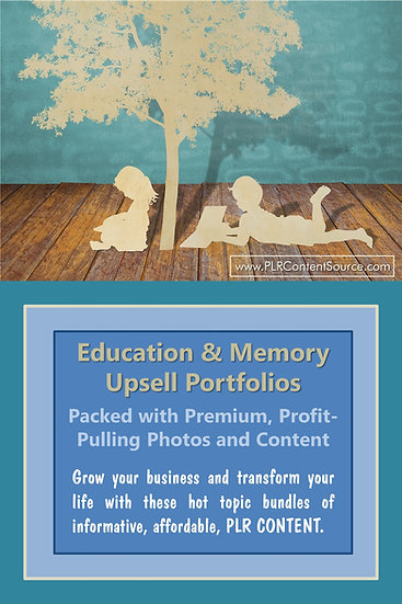 Education and Memory Upsell Content Collection